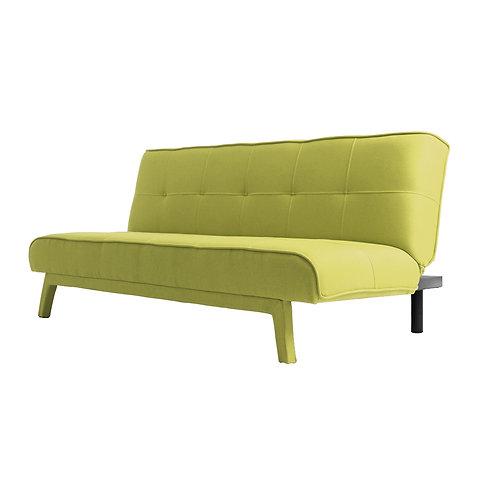 2 Seater Bed Sofa MODES, Spring Green (et35), Black