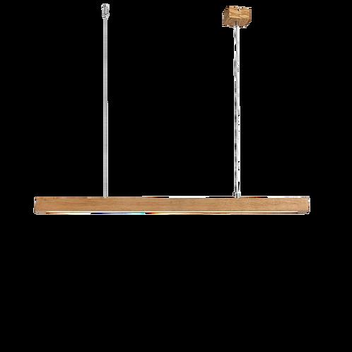 Ceiling Lamp LINE PLUS L WOOD LOW - natural oak