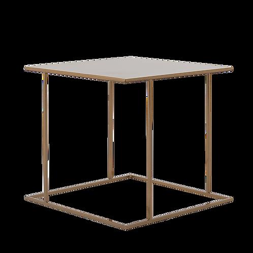 Coffee table WALT METAL 50, gold