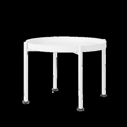 Coffee Table HANNA METAL 60-1F - white