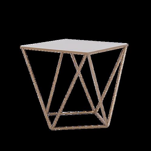 Coffee Table DARYL METAL 60, gold