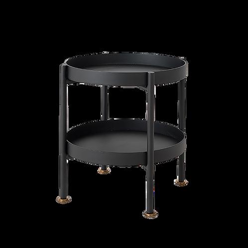 Coffee Table HANNA METAL 40-2F - black