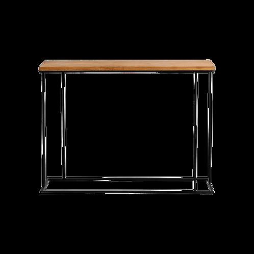 Console WALT WOOD 100 - oak veneer, black