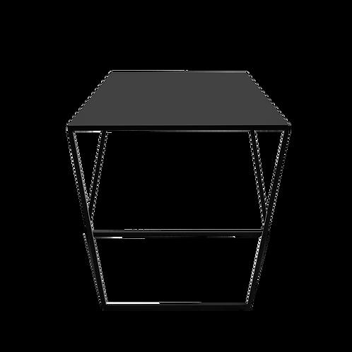 Coffee table ZAK METAL 50, black