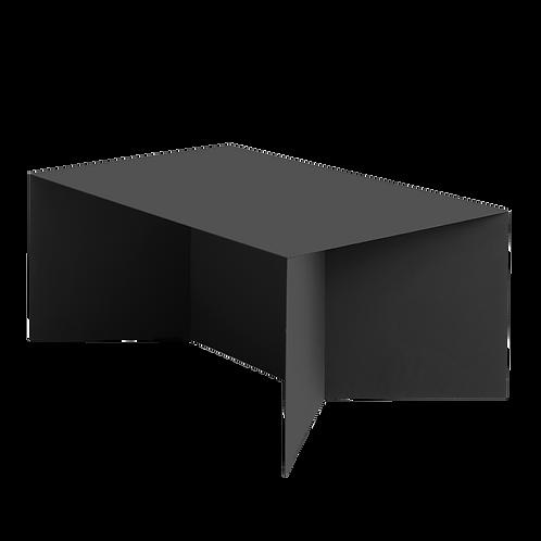 Coffee Table OLI METAL 100x60, black