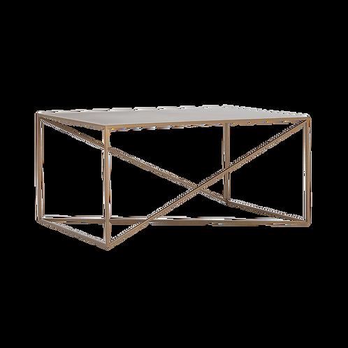 Coffee Table MEMO METAL 100x60, Gold