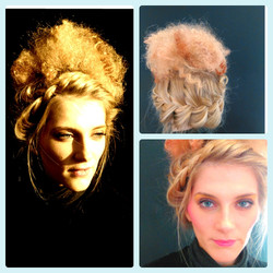 Editorial Hair - 60's Look Inspired