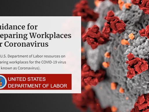 U.S. Department of Labor's OSHA Announces $1,222,156 in Coronavirus Violations