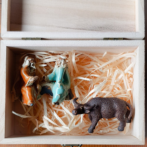 Bonsai Figurines Gift Box