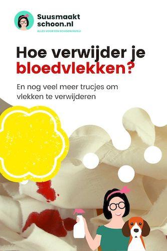 bloedvlekken verwijderen | oude bloedvlekken verwijderen | bloedvlekken verwijderen kleding | hoe bloedvlekken verwijderen | vlekken verwijderen kleding | vlekken verwijderen tips | snel schoonmaken | schoonmaaktips voor thuis | huishoudelijke tips