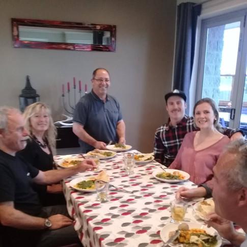 Dinner for 6 @ The Lorenz's