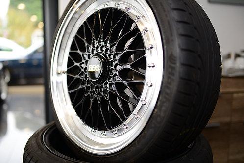 """4 CSR Felgen 19"""" BMW 5x120 mit Reifen"""