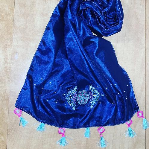 Embroider scarves