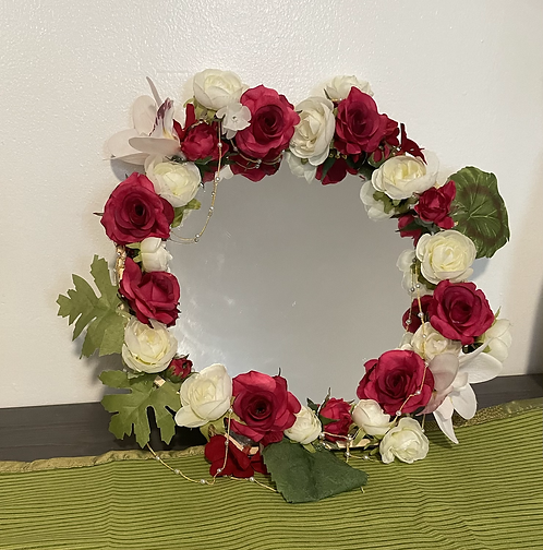 Flower jewelery set
