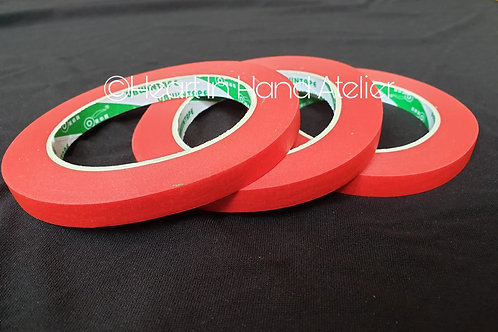 Low Tack Masking Tape - Assorted Width & Colours