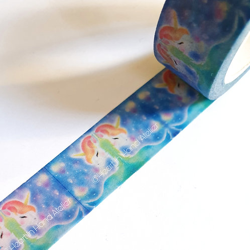 Unicorn Divine Washi Tape (Original Artwork by Heart In Hand Atelier)