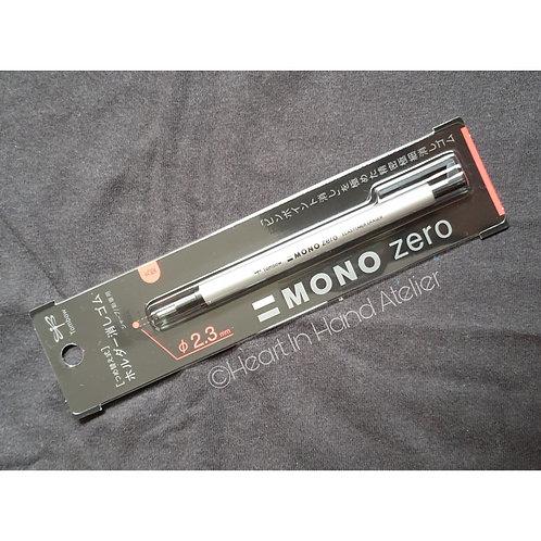 Tombow Mono Zero Pen Eraser 2.3mm (Silver)