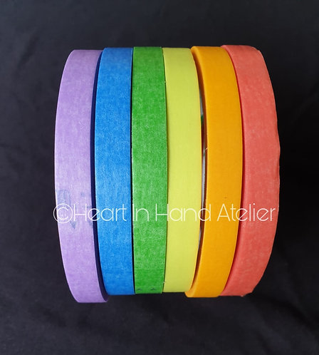 Colourful Masking Tape 10mm x 25m