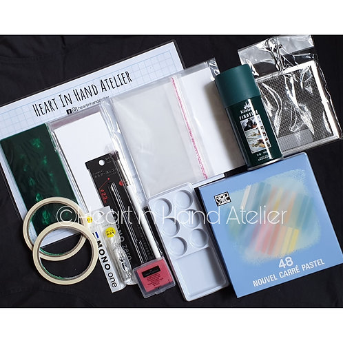 Heart In Hand Atelier Starter Kit (24 Colours Set OR 48 Colours Set)