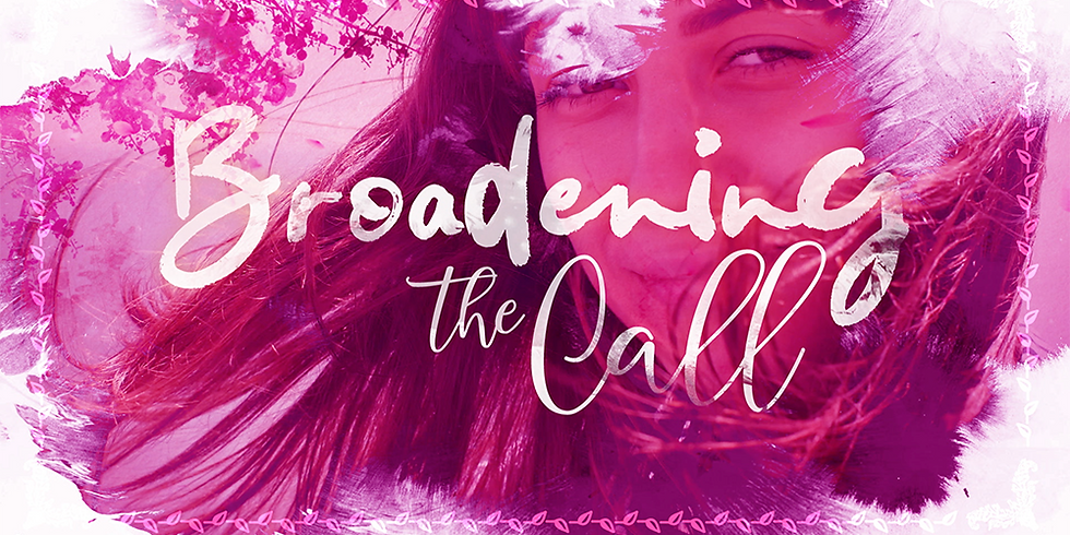 """""""Broadening The Call"""", The People's Conference"""