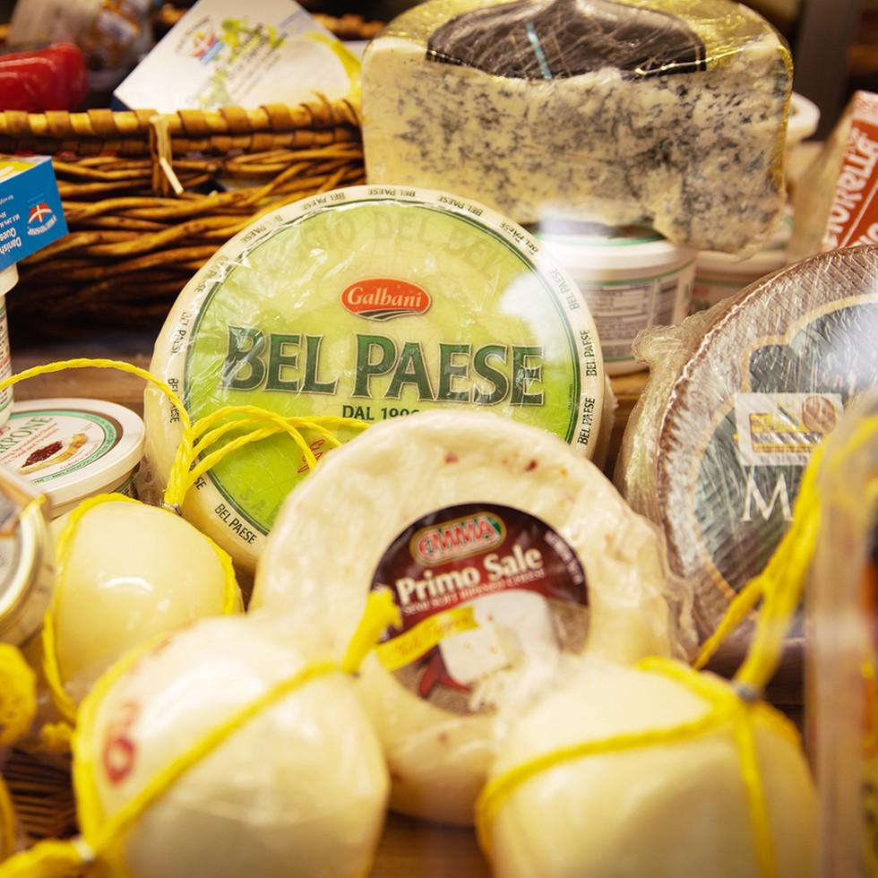 Authentic Italian ingredients