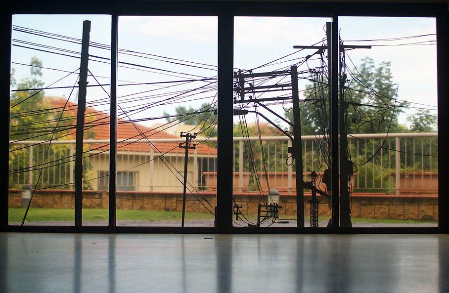מיצב תערוכה בסדנאות האמנים, הרצליה