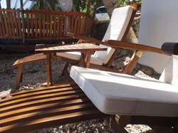 Sunning Wooden Chairs