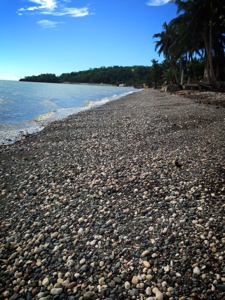 The walk on the beach