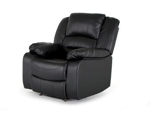 Barletto 1 Seater Recliner - Black