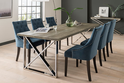 Tephra Table & 6 Chairs