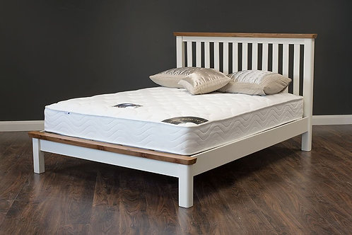Denver Cream & Oak Bedframe