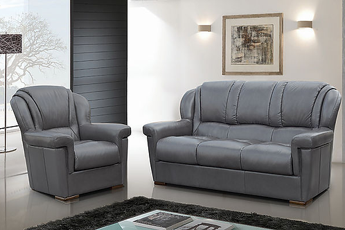 Lisa Italian Leather Sofa