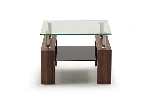 Maya End Table -Walnut