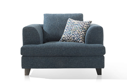 Etta 1 Seater - Grey