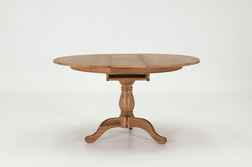 Beau Carmen Extending Round Dining Table 1120/1420