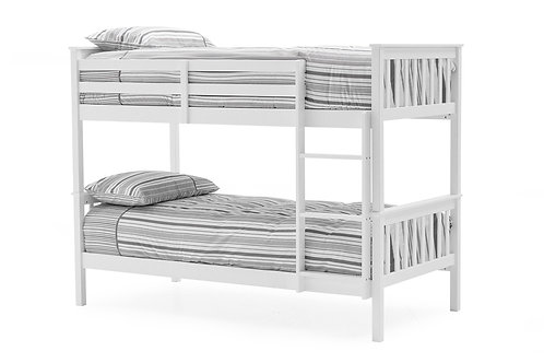 Salix Bunk Bed - 3' White