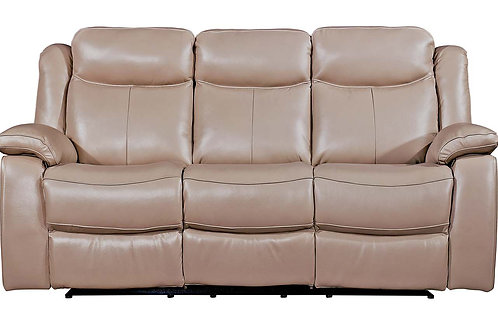 Torretta 3 Seater Recliner - Taupe (Nett Nett)