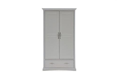 Harlow Wardrobe - 2 Door - Grey