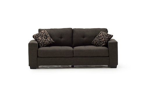 Vivaldi 3 Seater - Grey (2 scatter cushions)