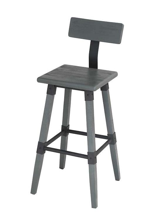 Hunter Bar Chair  - Grey Elm