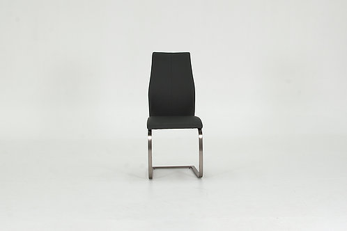 Irma Dining Chair - Brushed Steel Grey