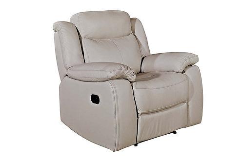Torretta 1 Seater Recliner - Light Grey (Nett Nett)