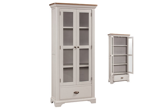 Lyon Painted Large Display Cabinet