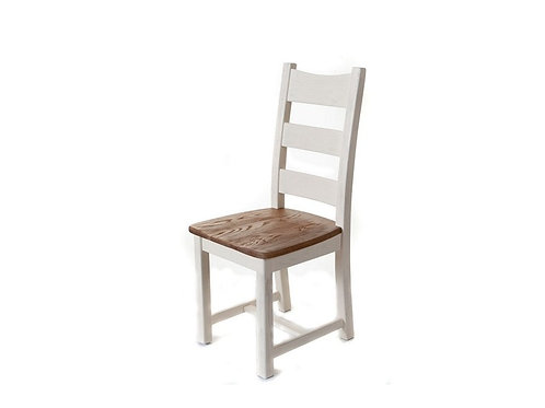 Colorado Oak White Dining Chair