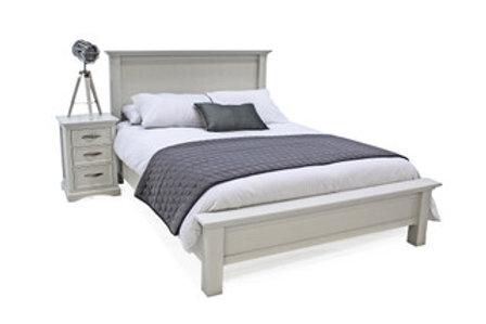 Harlow Bed - 4'6 Grey