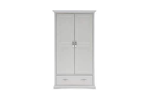 Harlow Wardrobe - 2 Door - White