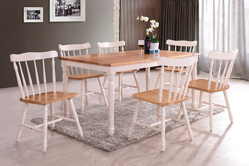 Monaco 5ft Dining Set