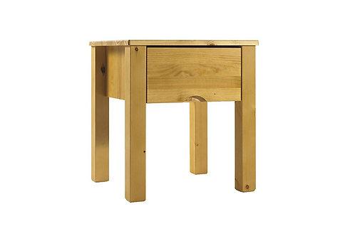 Canadian Pine 1 Drawer Nightstand