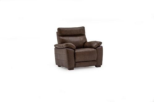 Positano 1 Seater Fixed - Brown
