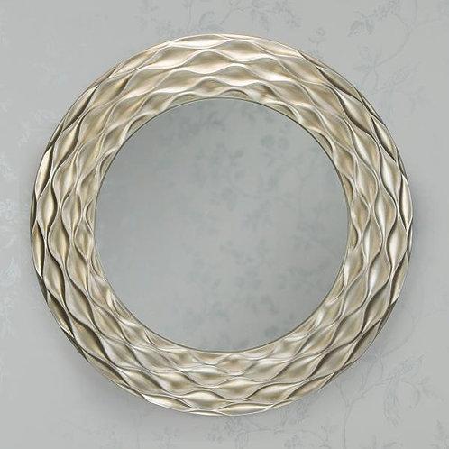 Ripples Mirror - Antique Champange